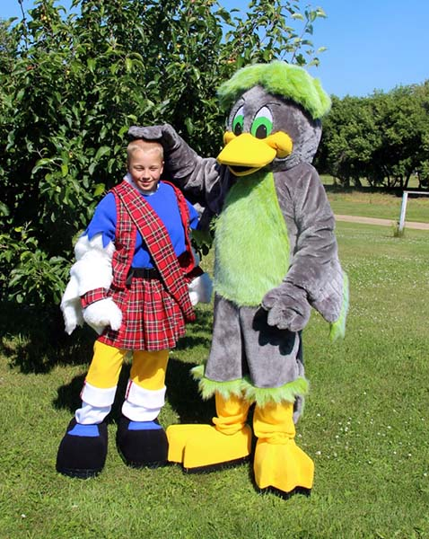 are mascots good for children